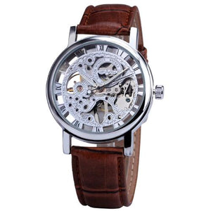 Classy Men Watch Superior Brown/Silver - Classy Men Collection