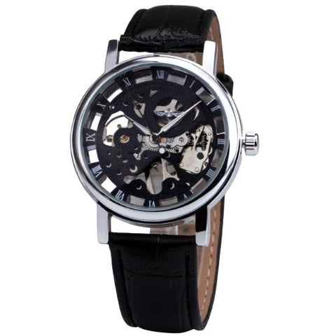 Classy Men Watch Superior Black/Silver - Classy Men Collection