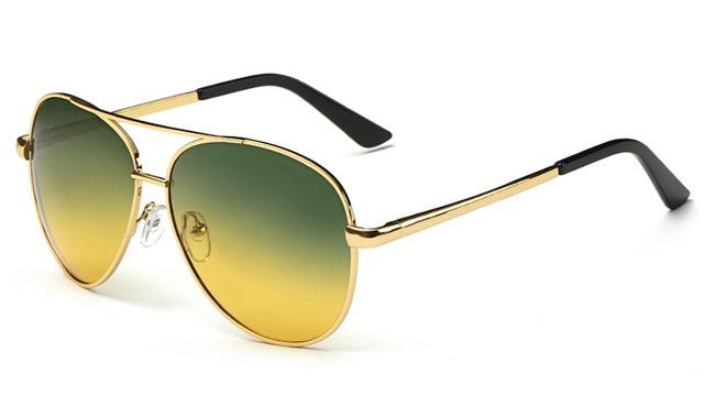 Classy Men Sunglasses Pilot Yellow - Classy Men Collection