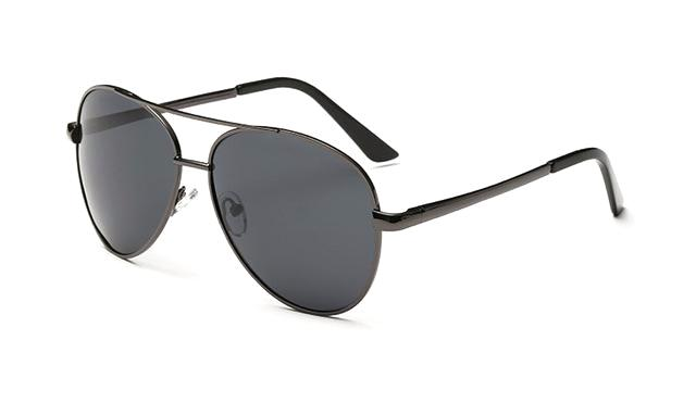 Classy Men Sunglasses Pilot Grey - Classy Men Collection