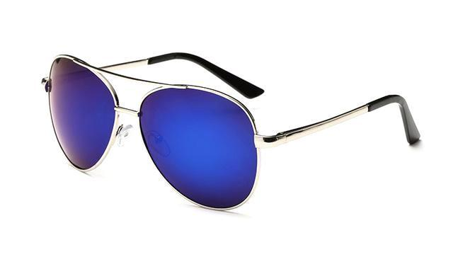 Classy Men Sunglasses Pilot Blue - Classy Men Collection