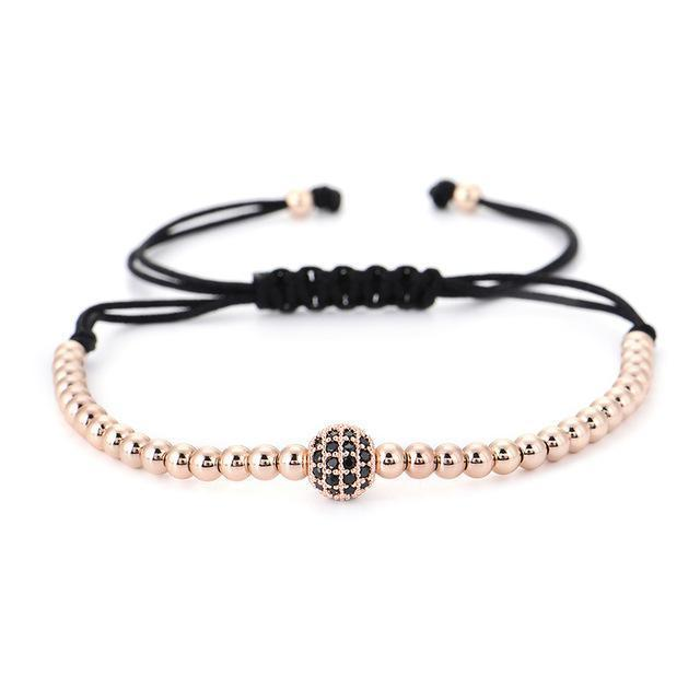Classy Men Bracelet Rose Gold - Classy Men Collection