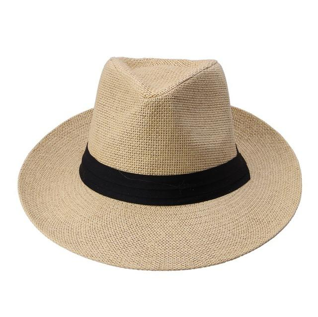 Classy Men Panama Hat Light Coffee - Classy Men Collection
