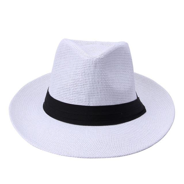 Classy Men Panama Hat White - Classy Men Collection