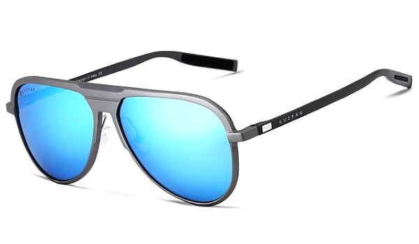 Classy Men Blue Polarized Luxury Aviators - Classy Men Collection