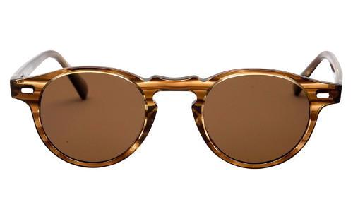 Classy Men Sunglasses Retro Brown - Classy Men Collection