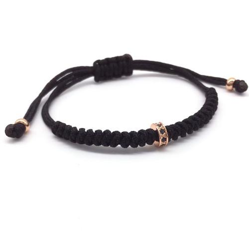 Classy Men Bracelet Macrame Rose Gold - Classy Men Collection