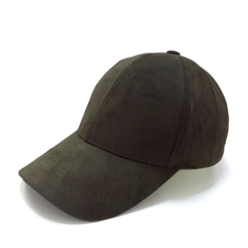 Classy Men Suede Cap Army Green - Classy Men Collection