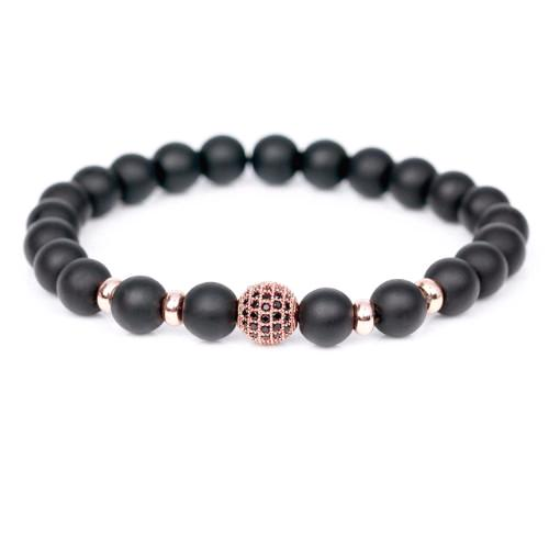 Classy Men Bracelet Matte Rose Gold - Classy Men Collection