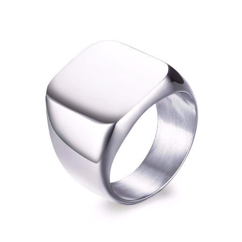 Classy Men Silver Ring - Classy Men Collection