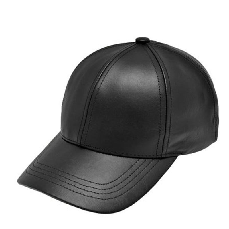 Classy Men Leather Cap