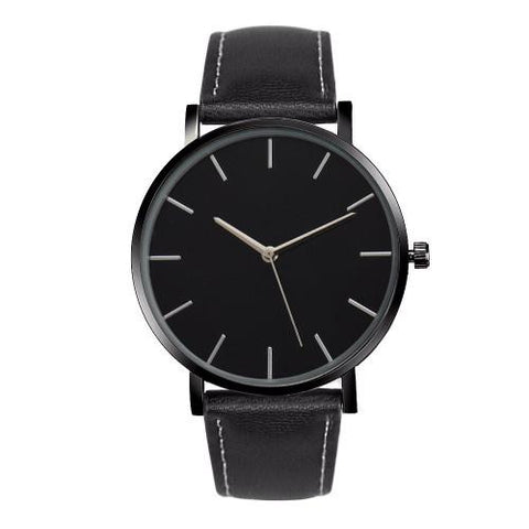 Classy Men Watch Minimalist Black - Classy Men Collection