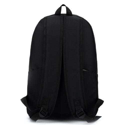 Classy Men Black Simple Backpack - Classy Men Collection
