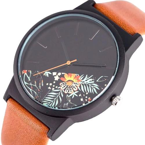 Classy Men Watch Floral