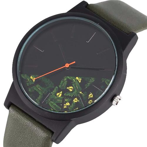 Classy Men Floral Watch