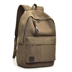 Classy Men Canvas Backpack - 4 Colors - Classy Men Collection