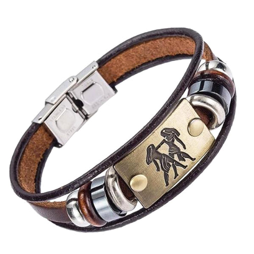 Classy Men Gemini Zodiac Sign Bracelet - Classy Men Collection