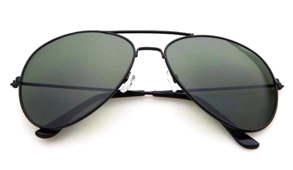 Classy Men Sunglasses Aviator Army Green