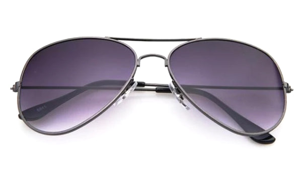 Classy Men Sunglasses Aviator Gradient Grey