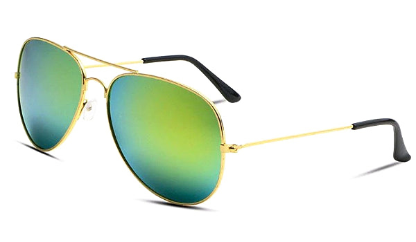 Classy Men Sunglasses Aviator Turquoise - Classy Men Collection