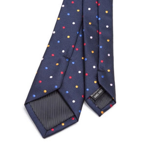 Classy Men Colorful Dotted Skinny Tie - Classy Men Collection
