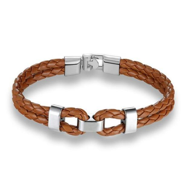Classy Men Leather Bracelet - Classy Men Collection