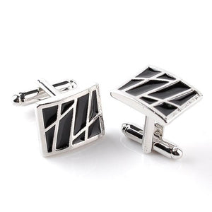Classy Men Cufflinks Lining Design - Classy Men Collection