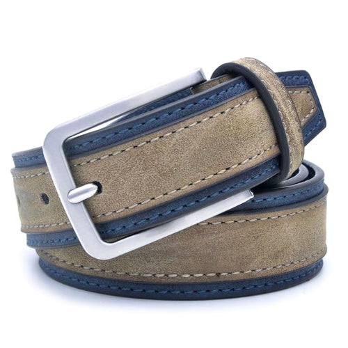 Classy Men Light Brown Smart Casual Belt - Classy Men Collection
