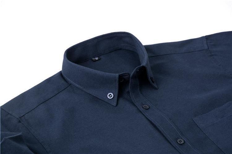 Plain Oxford Blue Dress Shirt | Regular Fit | Sizes 38-44