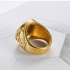 Classy Men Heavy Signet Ring - Classy Men Collection