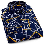Casual Pocketless Dress Shirt | Modern Fit | Sizes 38-44 - Classy Men Collection