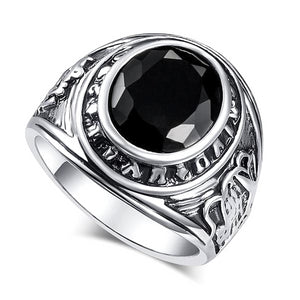 Classy Men Black Stone Ring - Classy Men Collection