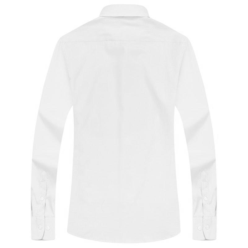 Basic White Dress Shirt | Modern Fit | Sizes 38-48 - Classy Men Collection