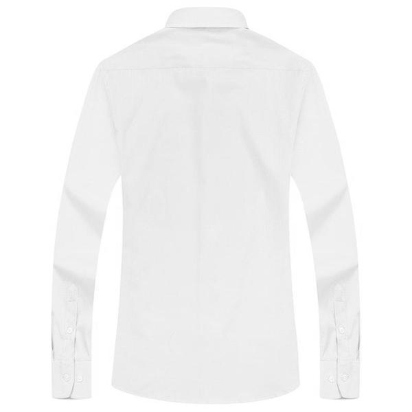 Formal White Dress Shirt | Modern Fit | Sizes 38-48 - Classy Men Collection