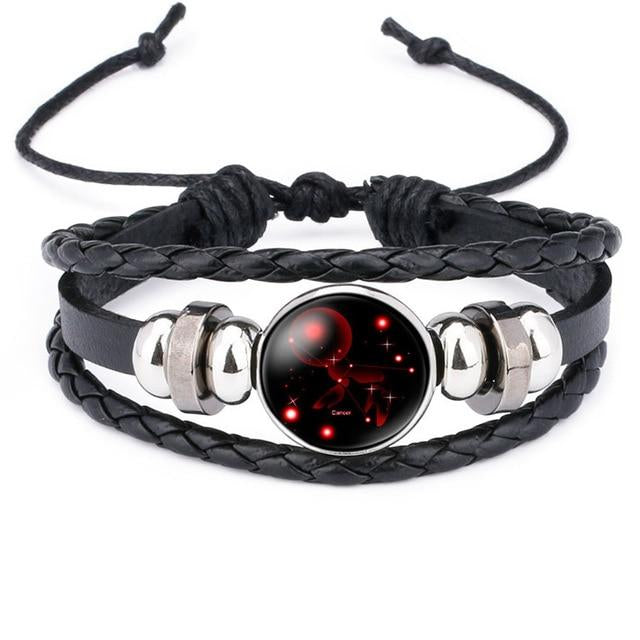 Classy Men Cancer Constellation Zodiac Bracelet - Classy Men Collection