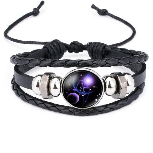 Classy Men Libra Constellation Zodiac Bracelet - Classy Men Collection