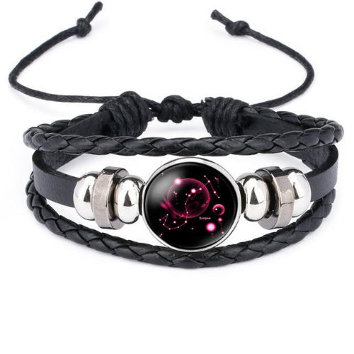 Classy Men Scorpio Constellation Zodiac Bracelet - Classy Men Collection