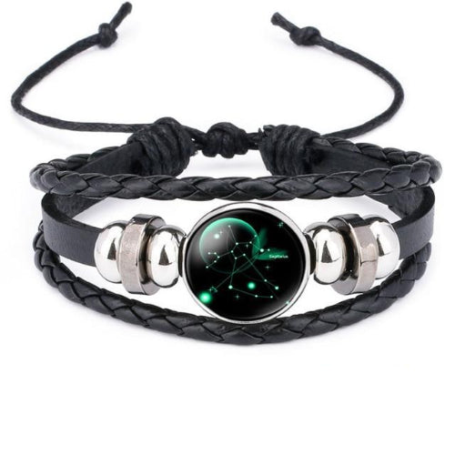 Classy Men Sagittarius Constellation Zodiac Bracelet - Classy Men Collection