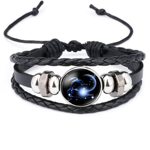 Classy Men Capricorn Constellation Zodiac Bracelet - Classy Men Collection