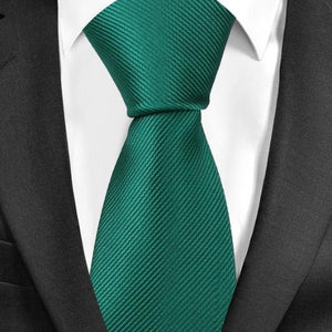 Classy Men Plain Tie - 20 Colors - Classy Men Collection