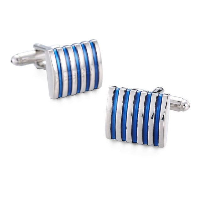 Classy Men Cufflinks Striped - Classy Men Collection