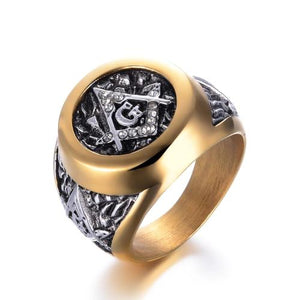 Classy Men Masonic Ring - Classy Men Collection