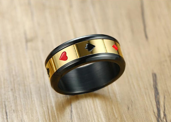 Classy Men Lucky Ring For Money - Classy Men Collection