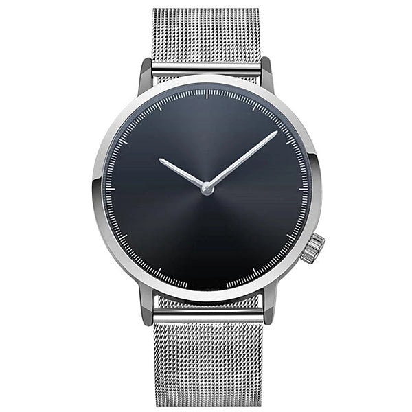 Classy Men Watch Clean Silver/Black - Classy Men Collection