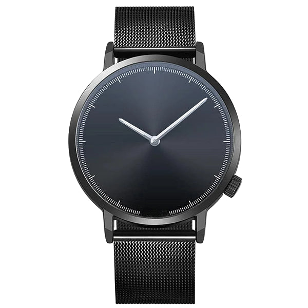 Classy Men Watch Clean Black - Classy Men Collection