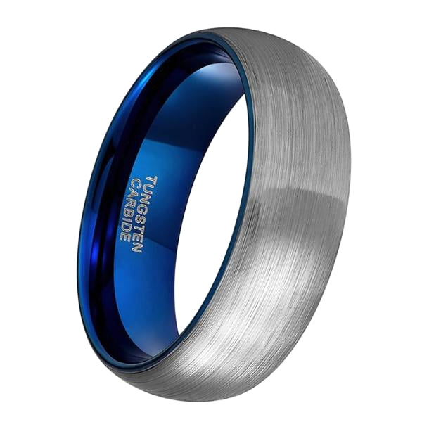 Classy Men Brushed Tungsten Ring - Classy Men Collection