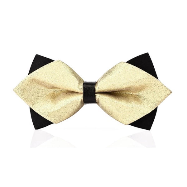 Classy Men Fancy Pre-Tied Diamond Bow Tie - Classy Men Collection