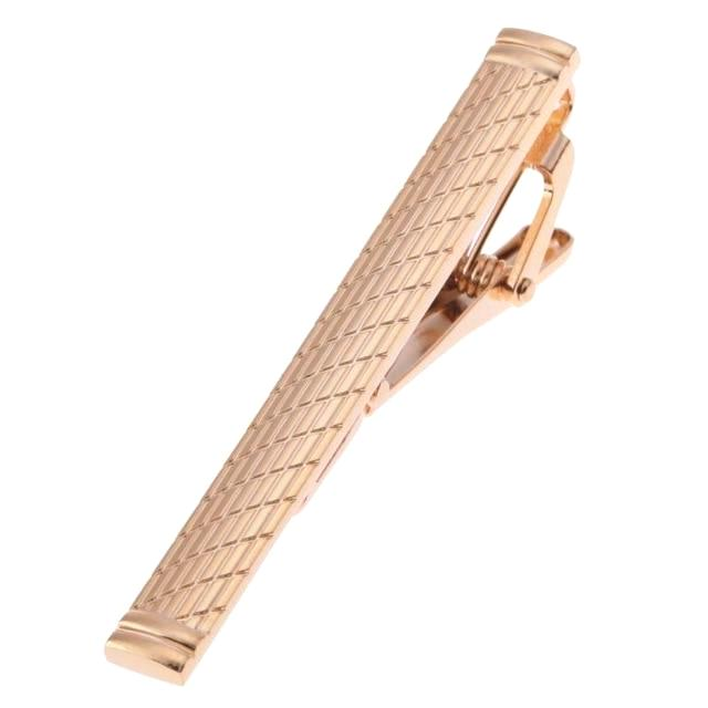 Classy Men Tie Clip Rose Gold - Classy Men Collection