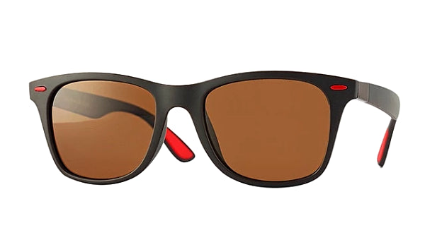 Classy Men Brown Polarized Beach Sunglasses - Classy Men Collection