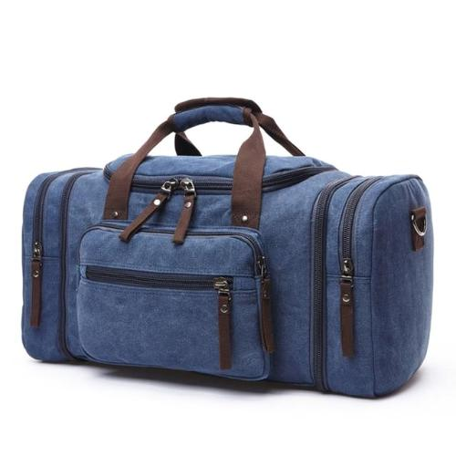 Classy Men Canvas Weekend Bag - 6 Colors - Classy Men Collection